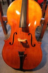 M. Goffriller model cello Mark Moreland.
