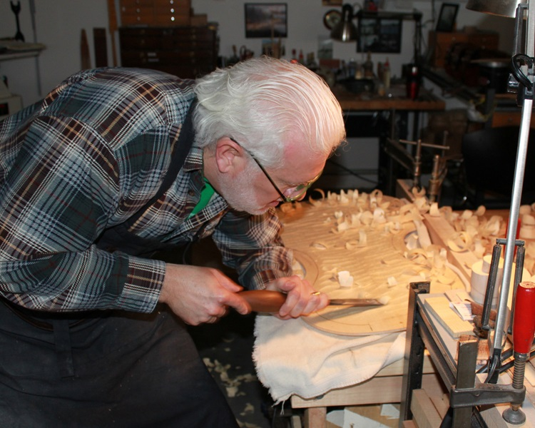 Mark in the workshop.3