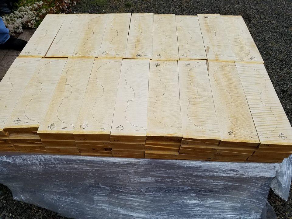 Wood for Violins