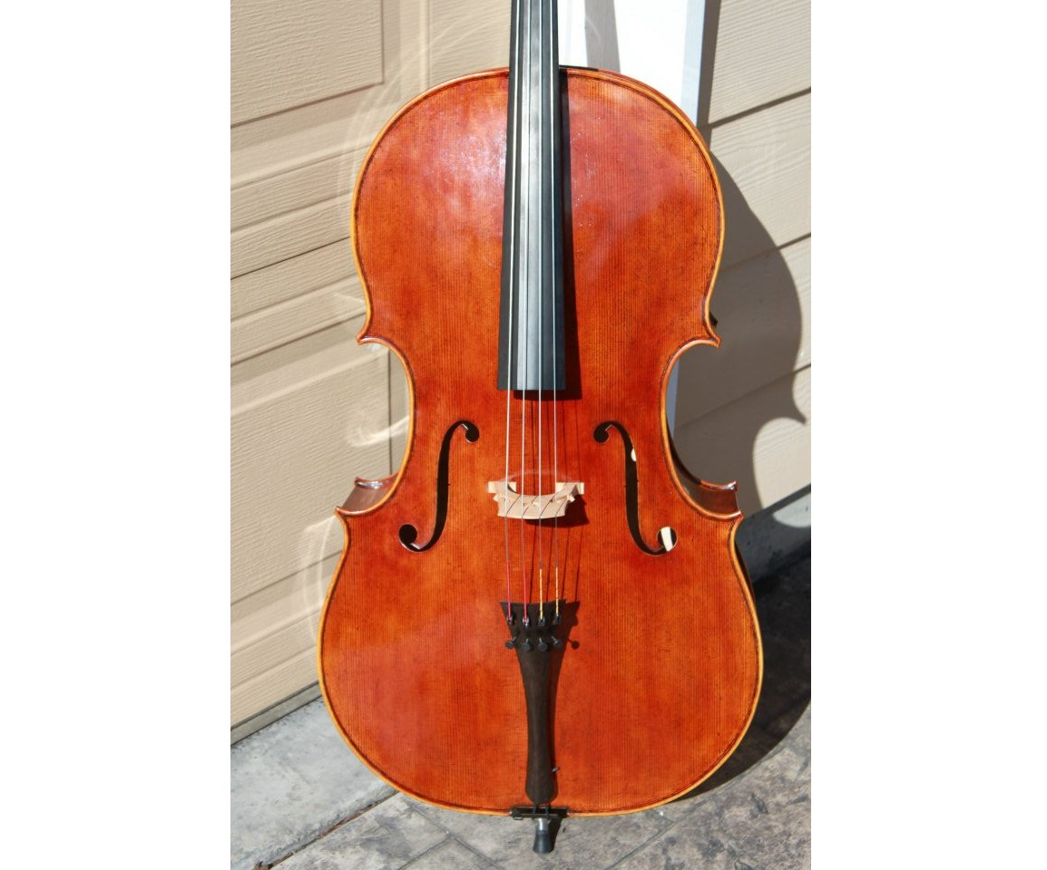 Goffriller model cello finished by Mark Moreland
