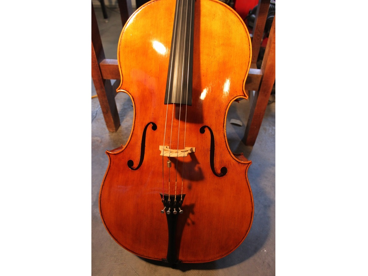 M. Goffriller model cello Mark Moreland.