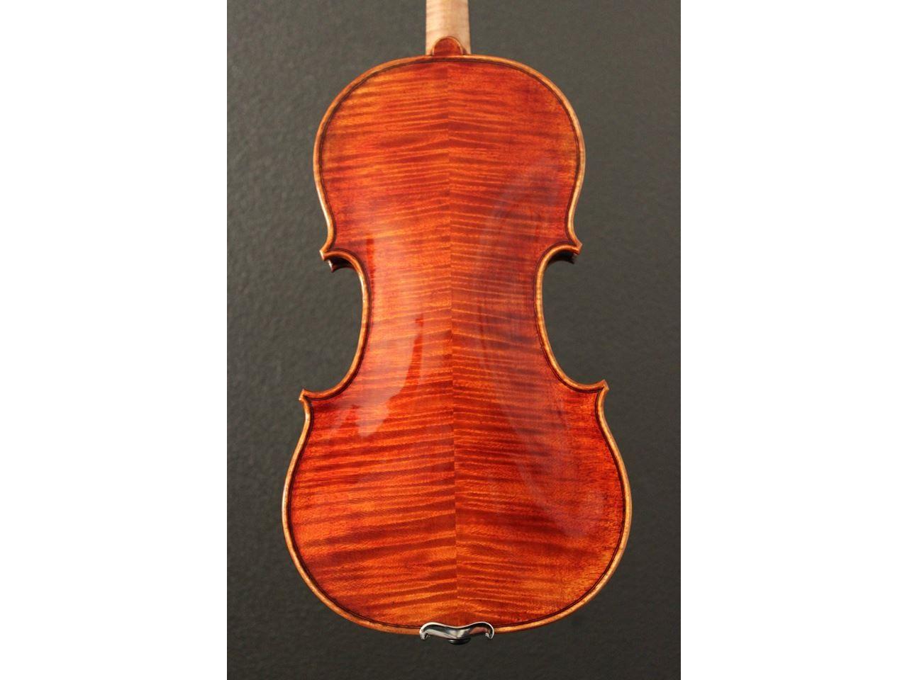 Mark Moreland Back of instrument