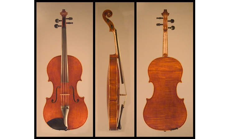 Mark Moreland Viola 2-model by Andrea Postacchini