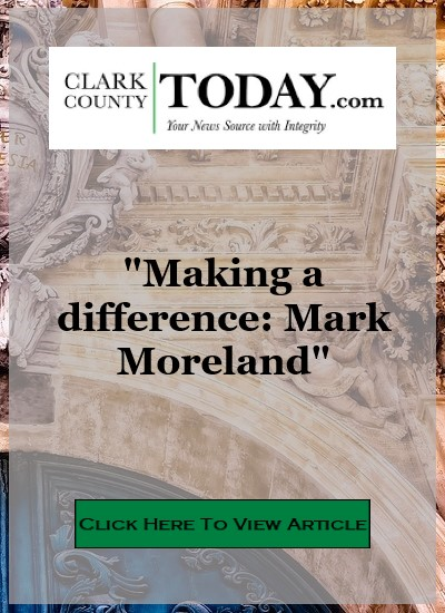 News article Clark County Today Mark Moreland
