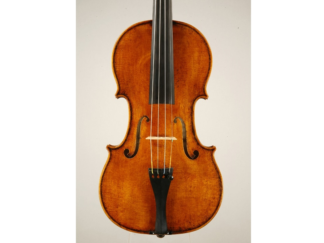 Violin made by Mark Moreland.3
